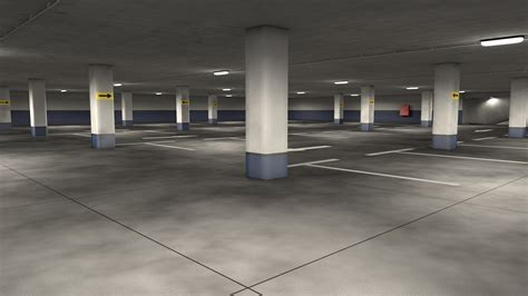 Parking Garage by Parking Garage By 3dtreatment 3docean