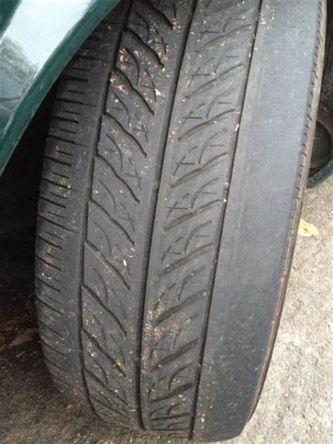 boat trailer tires uneven wear bad bushings causing uneven tire wear jaguar forums