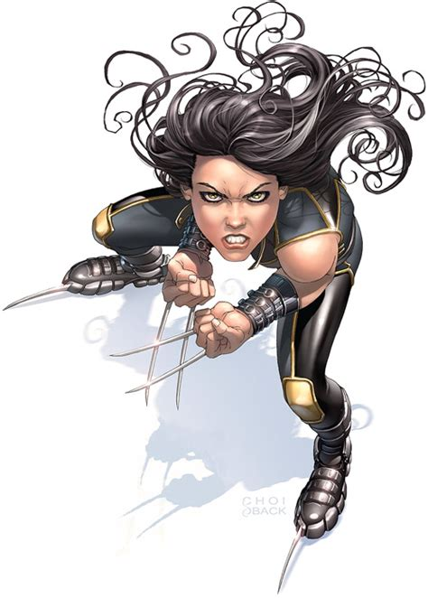 X-23 (Laura Kinney) (Marvel Comics' Wolverine girl clone ... X 23 Comic
