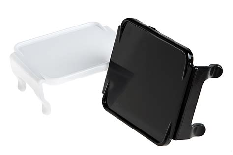 Square Light Cover by 3 Quot Square Led Light Pod Lens Cover Opaque Mini