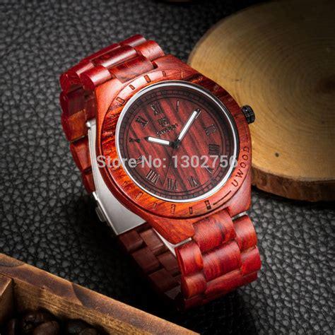 eco friendly sandal wood health watches uwood brand
