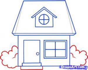 how to draw house how to draw a house coloring pages to print