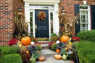 life and love fall front porch decoration ideas