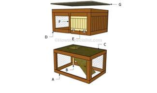 build rabbit hutch how to build a rabbit hutch step by step howtospecialist