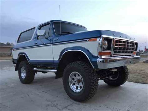 classic ford bronco for sale classic ford bronco for sale on classiccars 112