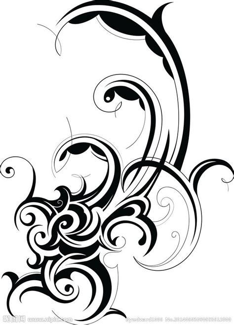 纹身花纹图腾图案矢量图 卡通设计 广告设计 矢量图库 昵图网nipic com