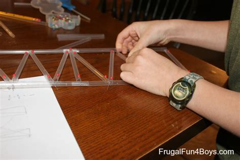 How To Make A Paper Bridge Without Glue - engineering for build a bridge with straws and