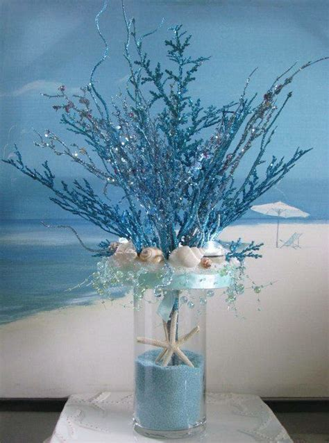 the sea centerpieces centerpiece the sea birthday