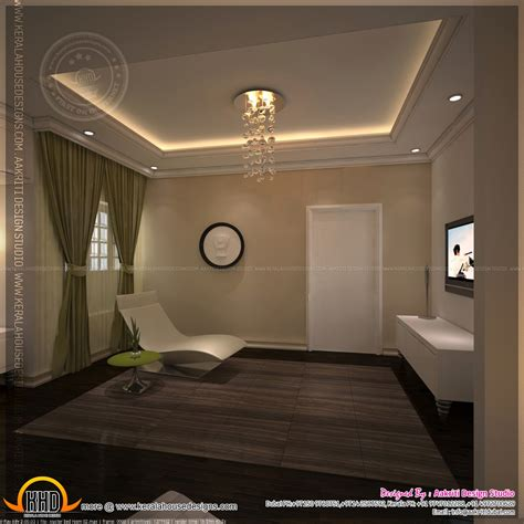 master bedroom  bathroom interior design kerala home