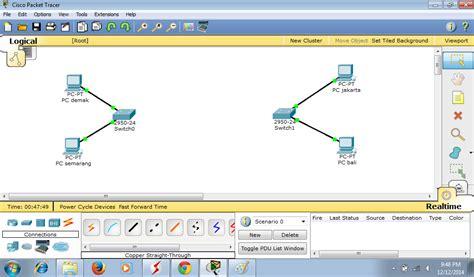 membuat simulasi jaringan lan dengan cisco packet tracer cara membuat simulasi jaringan routing static dengan cisco
