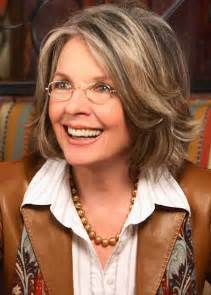 diane keaton hair color babylon grey hair update