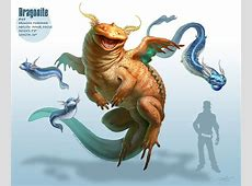 Dragonite Evolutions As Dragons, Pokemon Art By Arvalis Realistic Pokemon Fusions