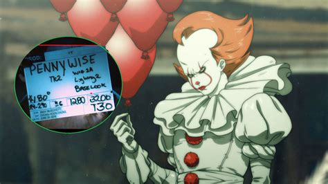 pennywise gets the anime treatment and a bts