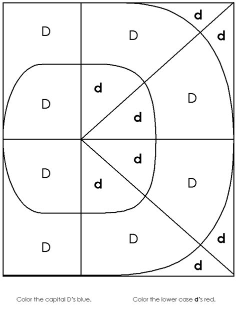 free printable worksheets for kindergarten letter d free coloring pages of letter d worksheet