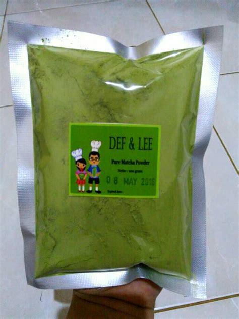 Bubuk Matcha Asli Jepang jual premium matcha greentea powder high quality