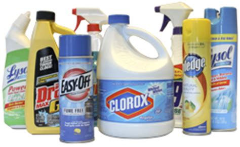 hazardous household products the health hazards of common household cleaners w