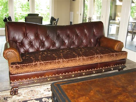 leather and cloth sofas leather sofa with cloth cushions home design ideas