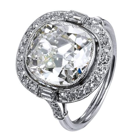 cushion cut bezel engagement rings engagement ring usa