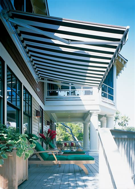 Sunbrella Retractable Awning Sunstopper Awnings Able Canvas