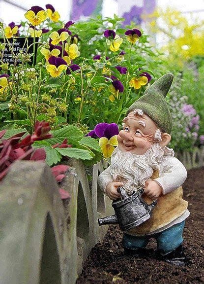 Chelsea Mini Gnome Mini Figure a garden with some gnomes would make me happy not scared