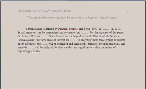 apa format introduction page psychology apa style 6th ed tutorial