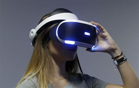 Vr Reality Sony Playstation Vr Headset Everything To Time
