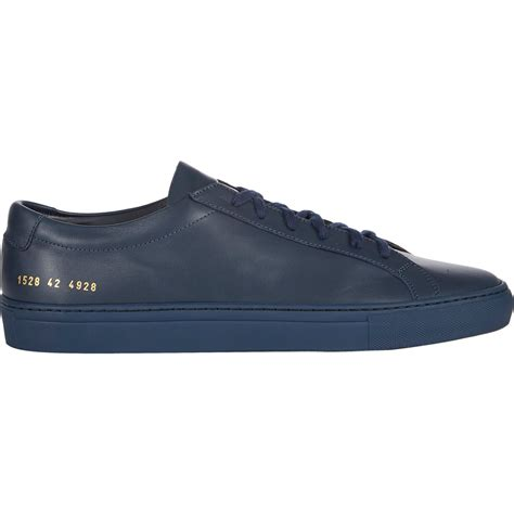 by common projects sneakers common projects achilles original leather low top sneakers