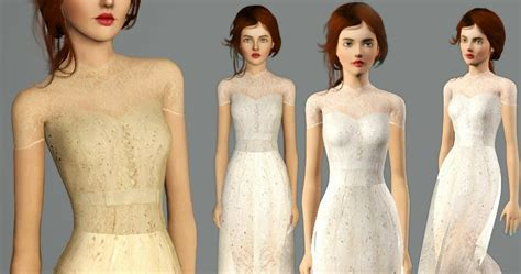 my sims 3 blog lace my sims 3 blog lace and transparent dress by weeky