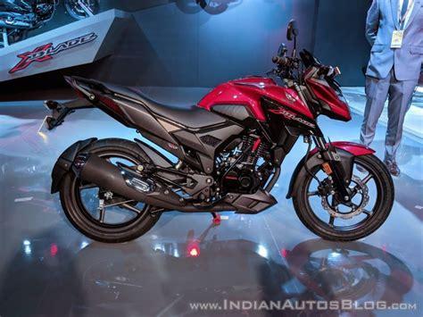 Lu Led Motor Honda Blade honda x blade 160 cc motorcycle unveiled auto expo 2018 live