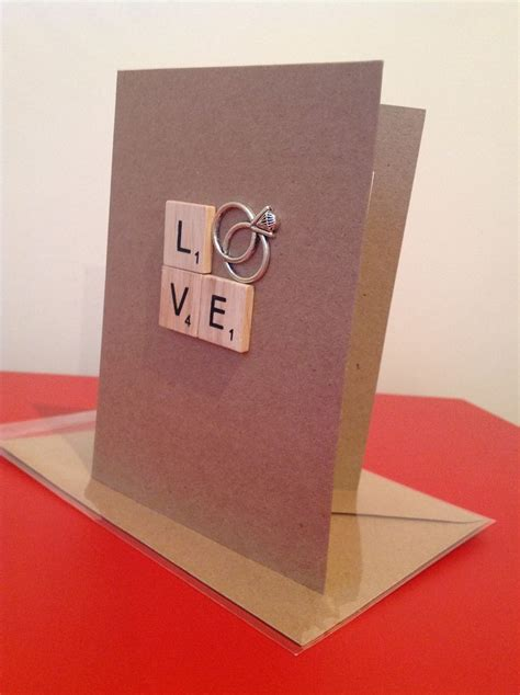 engagement cards to make 17 best ideas about scrabble board on scrabble
