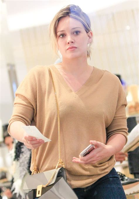 Hilary Duff Is The New Vaseline by Hilary Duff At Barney S New York In Beverly 01 09