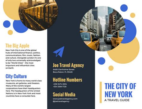 canva leaflet design photo of water travel brochure templates by canva
