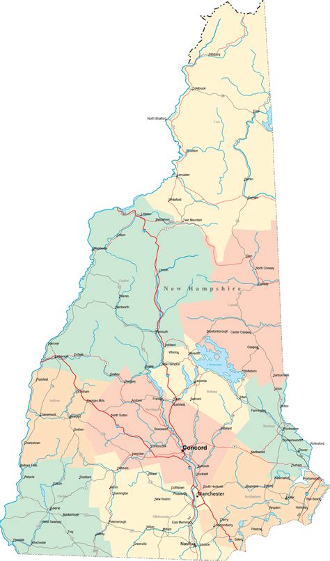 map of southern nh new hshire nh travel around usa
