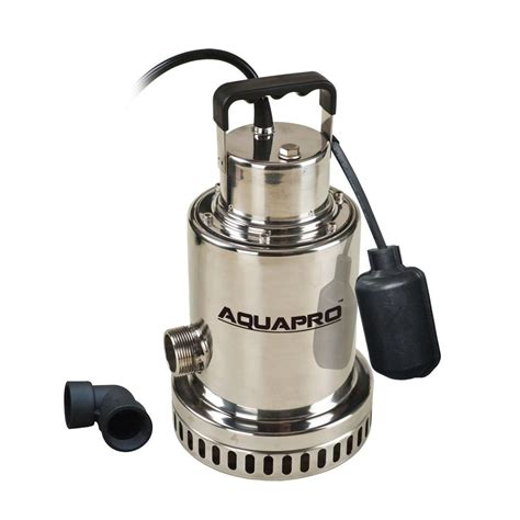 Home Depot Sump by Aquapro 1 2 Hp Submersible Sump 31051 3 The Home Depot