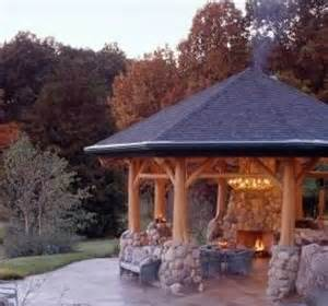 Fire Pit Gazebo by Gardens Middle And Logs On Pinterest