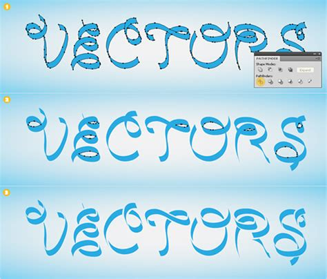 typography ribbon tutorial create a silky ribbon text effect