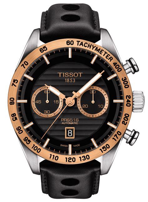 Tissot Prs 516 Rosegold Black tissot prs 516 automatic chronograph