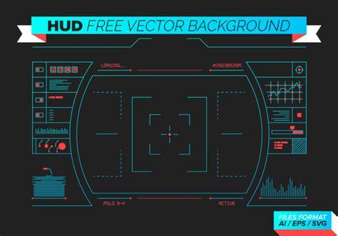 design video online hud free vector background download free vector art