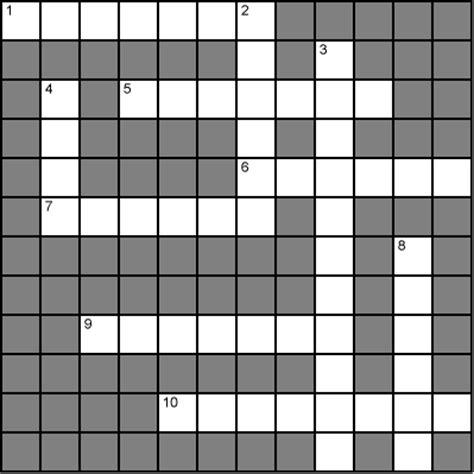 Scan Line Pattern Crossword | online crossword puzzles american style crossword grid