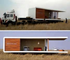 all in one prefab portable modern house design origami idea brought into the fold