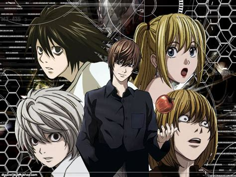 film anime death note death note group death note photo 38844405 fanpop