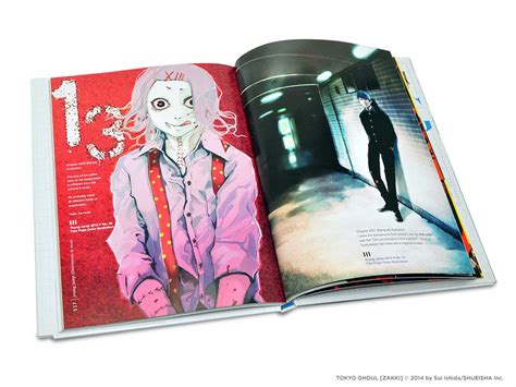 tokyo ghoul illustrations zakki books tokyo ghoul illustrations zakki hardcover
