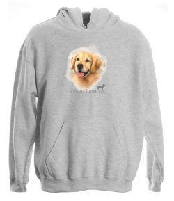 golden retriever hooded sweatshirt golden retriever pullover hooded sweatshirt