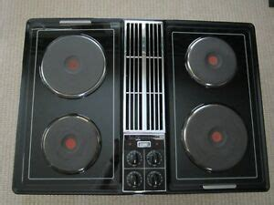 replace jenn air downdraft cooktop jenn air black downdraft cooktop solid element grill