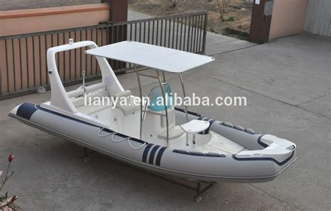fishing boat for sale no motor liya c 244 tes gonflable bateau avec couvre 20 pieds t tops
