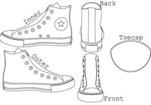chuck taylor s high tops template by alexchastain on
