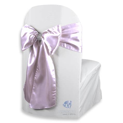chair covers with bows 150 pcs satin chair cover bow sash 108 quot x8 quot lavender w