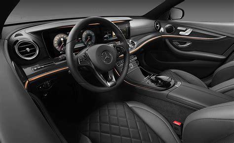 mercedes benz e class interior 2017 mercedes benz e class interior officially unveiled