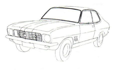 coloring pictures of holden cars urgent general discussion gmh torana