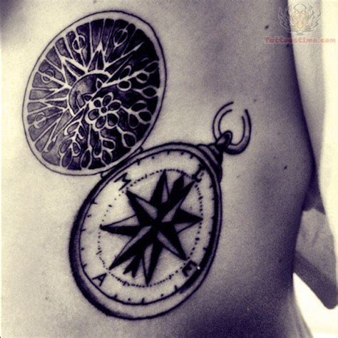 tattoo compass ribs 17 best ideas about vintage compass tattoo on pinterest